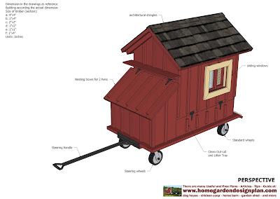 T100 - Chicken Coop Tractor Plans - Free Chiken Coop Plans - How To ...