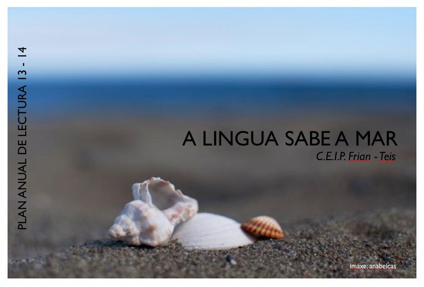 A Lingua sabe a mar