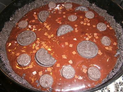 Torta de chocolate y Oreo sin horno.
