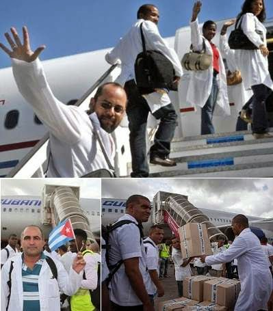 Cuba sends medics to fight Ebola in West Africa