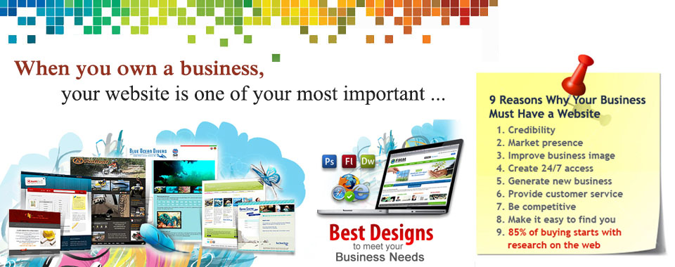 We Design Business Sites, We Build Success