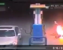 fired at gasoline station