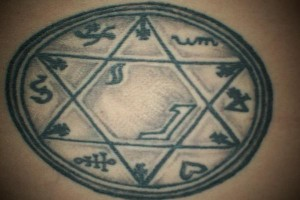 algoritma wiccan symible tattoo