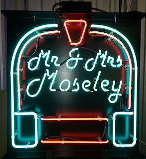 Custom Neon Signs Personalized Neon Signs Make Your #1: Mr & Mrs Mosely Personalized Neon Sign