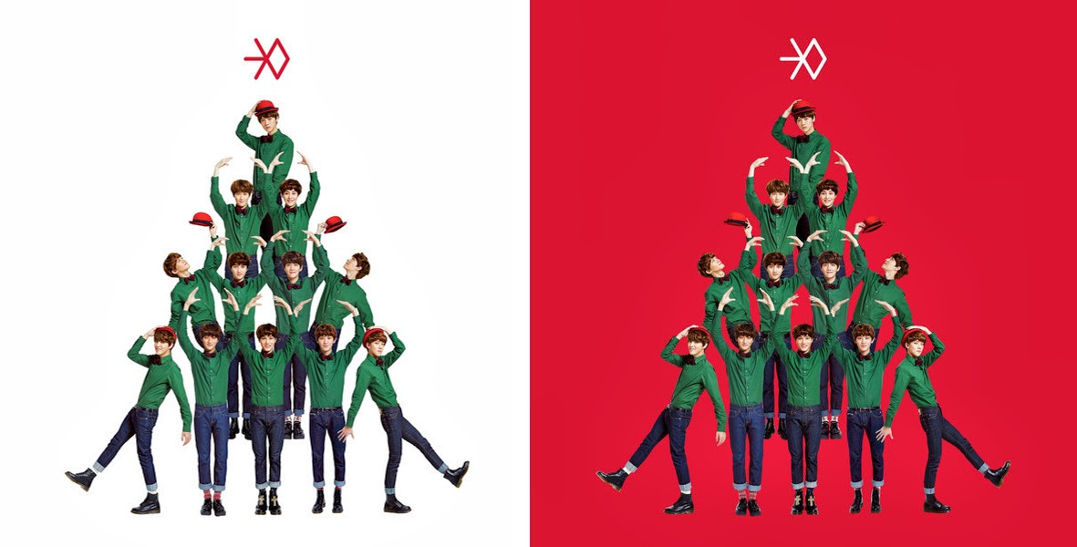 EXO Mini Album  – Miracles in December [Korean & Chinese Version]