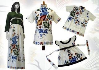 model baju batik modern 2013