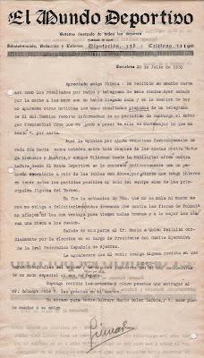 Escrito de Ricard Guinart dirigido a Ribera