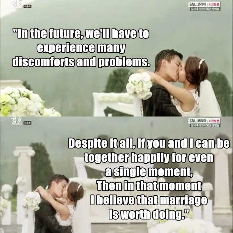 Is marriage not dating good