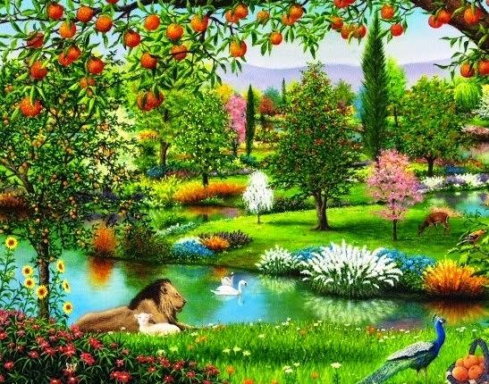 Comunidad kol shadai la obra de la creaci n gen 1 15 31 for Adan y eva en el jardin