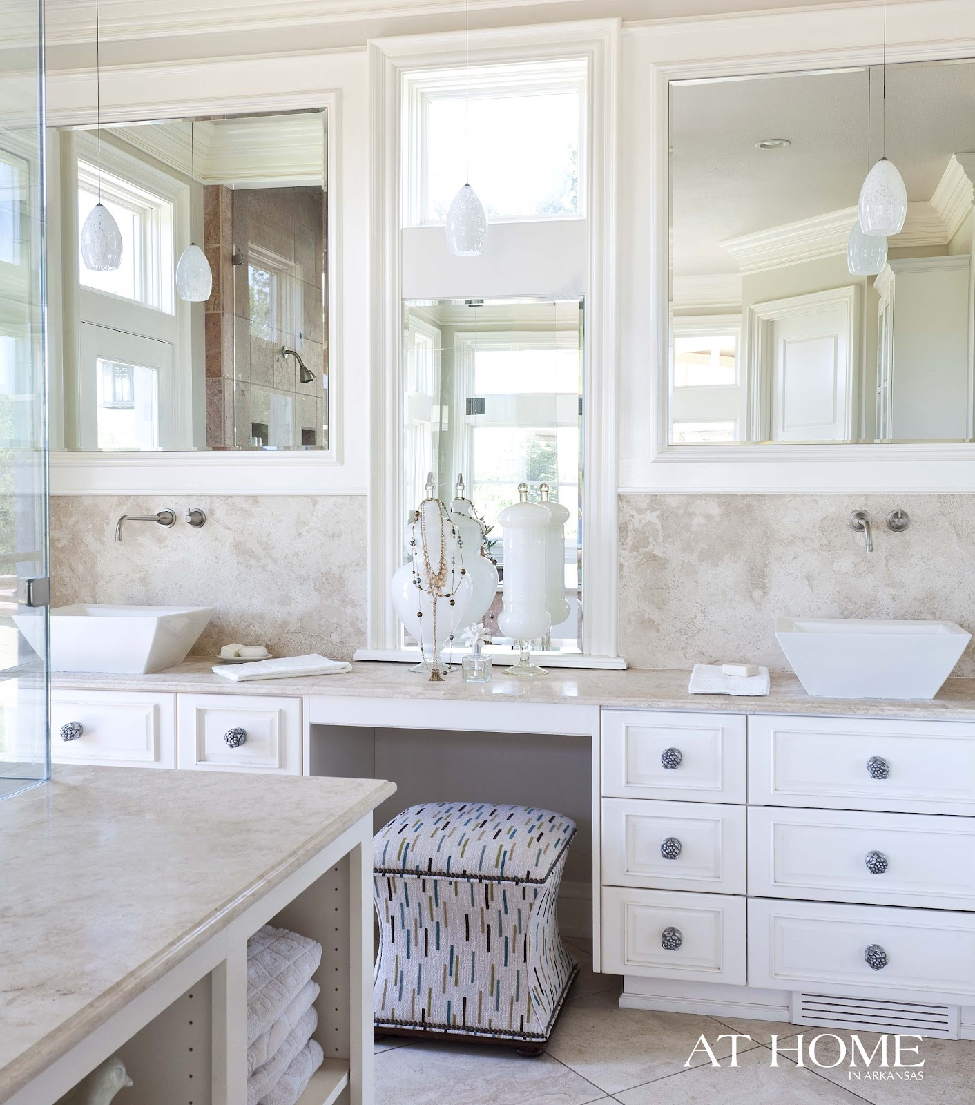 Spa Bathroom Vanities to da loos: creamy, dreamy master bathroom spa