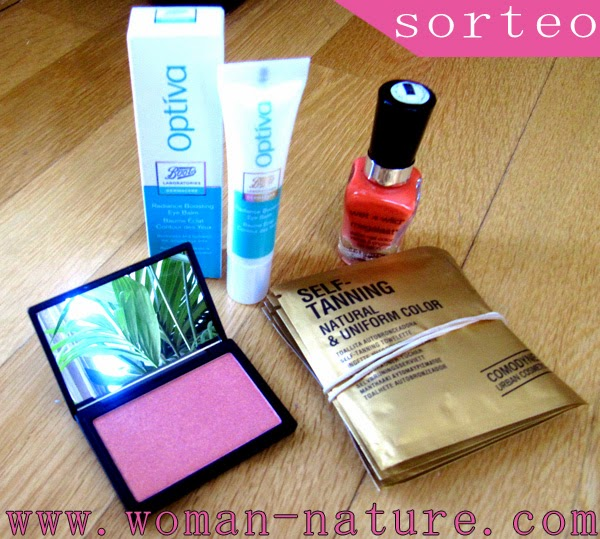 Sorteo Sleek + Optiva + Comodynes + Wet n Wild Woman Nature