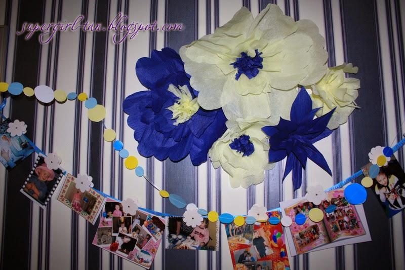 цветы из крепа своими руками