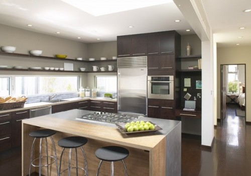 All amazing designs small kitchen designs for Small contemporary kitchen