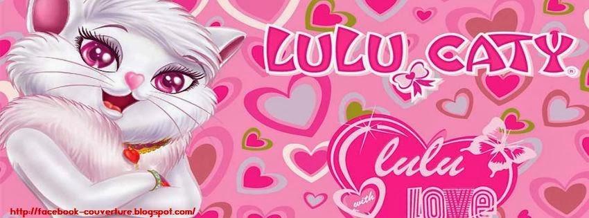 Couverture facebook cartoon Lulu Caty