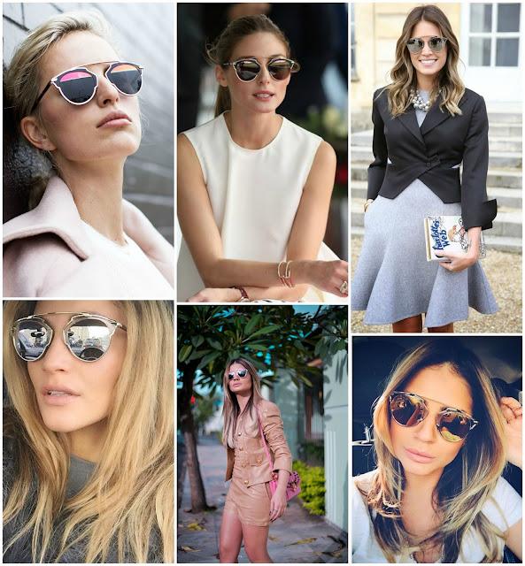 """Gafas de sol """"So Real"""" de Dior. Olivia Palermo gafas Dior. Gafas sol SoReal precio. Gafas sol SoReal Clon. Sunnies SoReal Dior. Sunnies Dior 2015. Dior Sunnies Summer 2015. Famosas con gafas sol SoReal"""