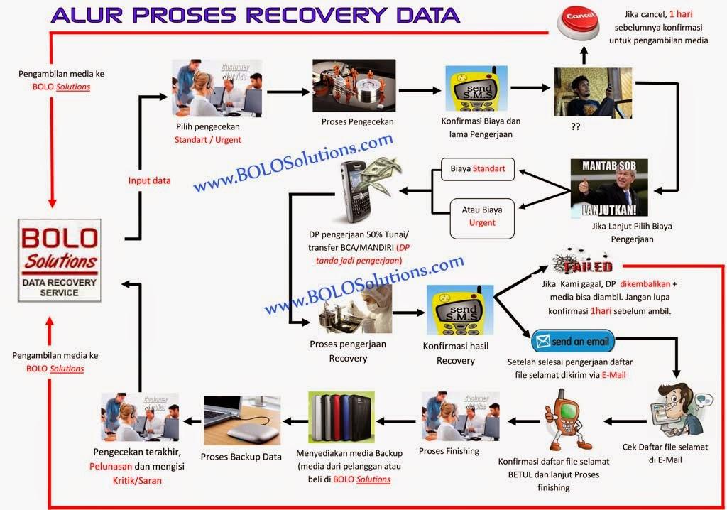 ALUR PROSES RECOVERY DATA HARDDISK FLASHDISK MEMORY CARD BOLO