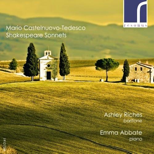 Castelnuovo-Tedesco Shakespeare Sonnets - Resonus Classics