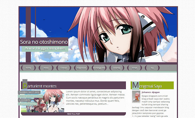 Faris Blog's | Template
