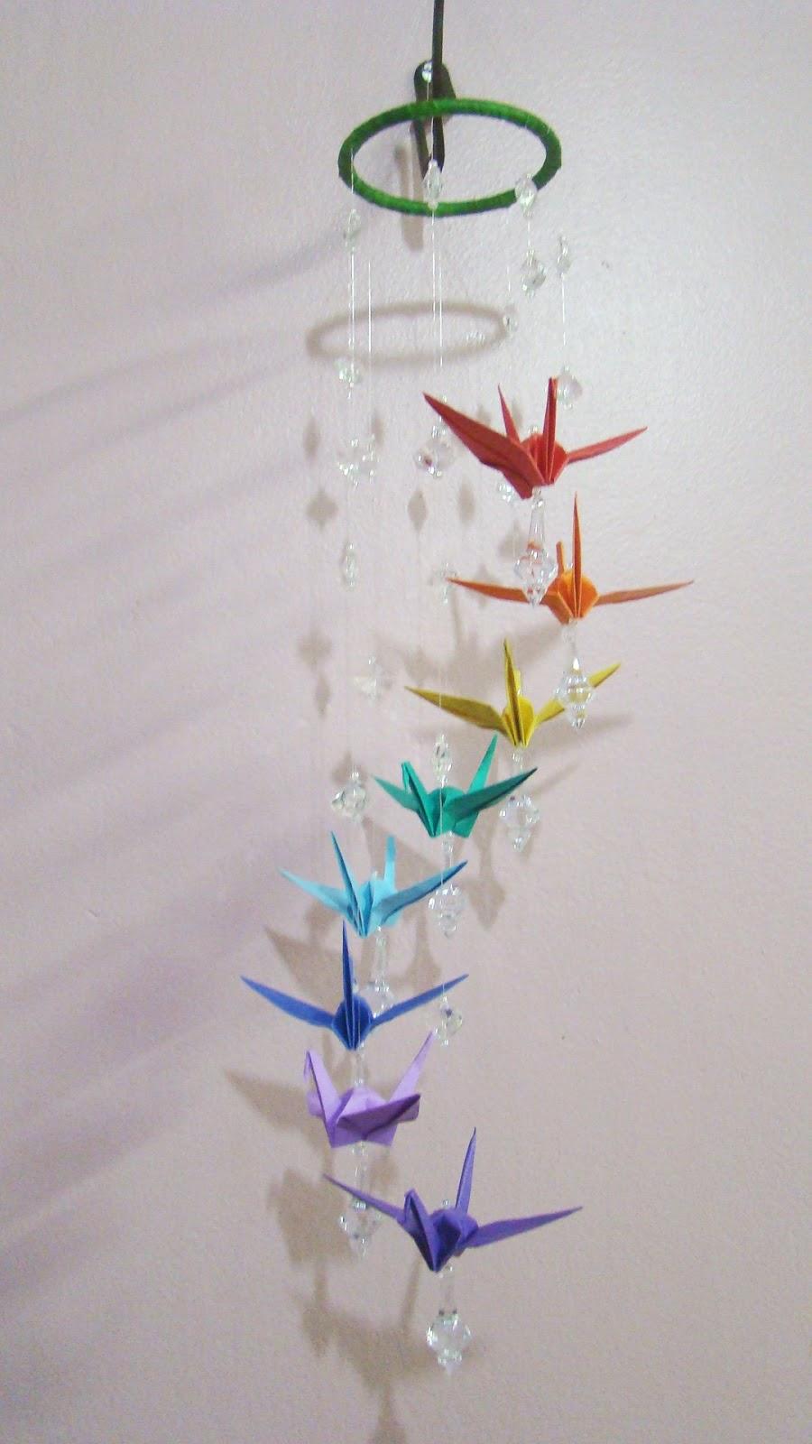 sis origamis m bile de tsurus. Black Bedroom Furniture Sets. Home Design Ideas