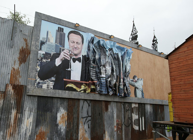 Green Pear Diaries, arte, Banksy, Dismaland, parque temático, Reino Unido