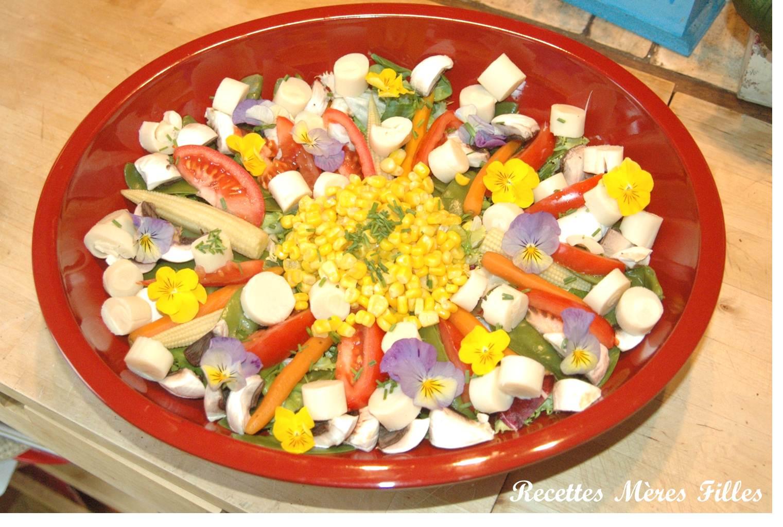 La recette legere salade pintaniere blogs de cuisine - Cuisine legere marmiton ...
