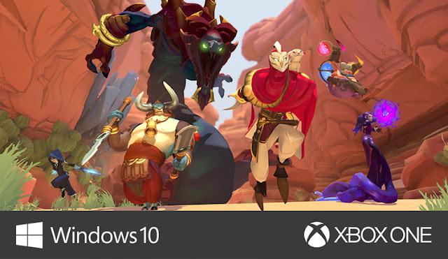 Gigantic fecha de la beta en Xbox One y Windows 10 1