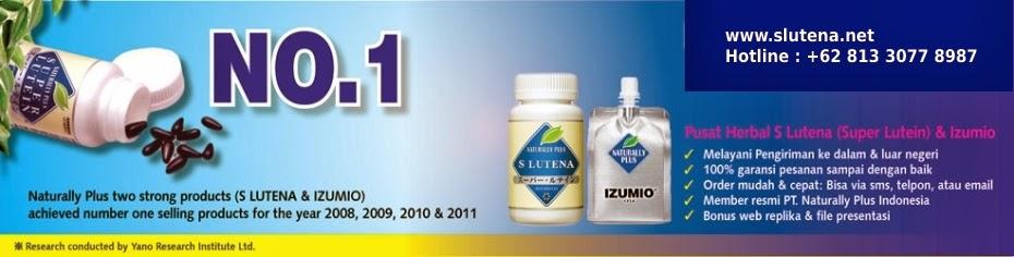S Lutena Suplemen Herbal Kesehatan No 1 dari Jepang