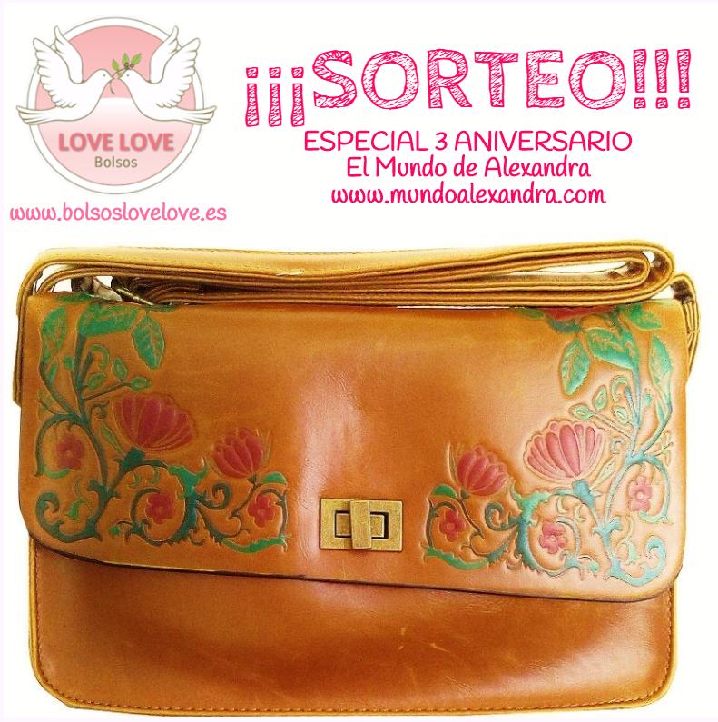 SORTEO ESPECIAL ANIVERSARIO CON BOLSOS LOVE LOVE