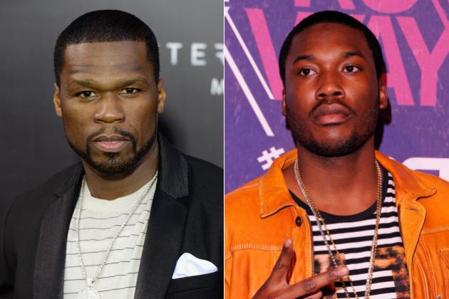 "50 Cent faz a plateia toda gritar ""Fuck Meek Mill"" durante show"