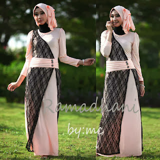 Ramadhani Maxi Dress + Pashmina