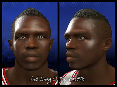 NBA 2K14 Luol Deng Cyberface Mod