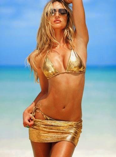 Victoria's Secret Gold Two-Piece + Skirt