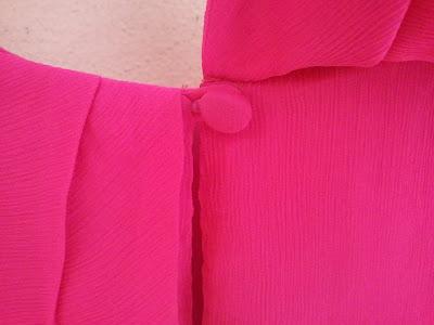 J. Crew Gabby Top in Vibrant Fuchsia