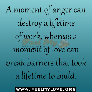 A moment of anger can destroy a lifetime of work