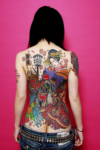 celebrity and wallpaper japanese tattoos