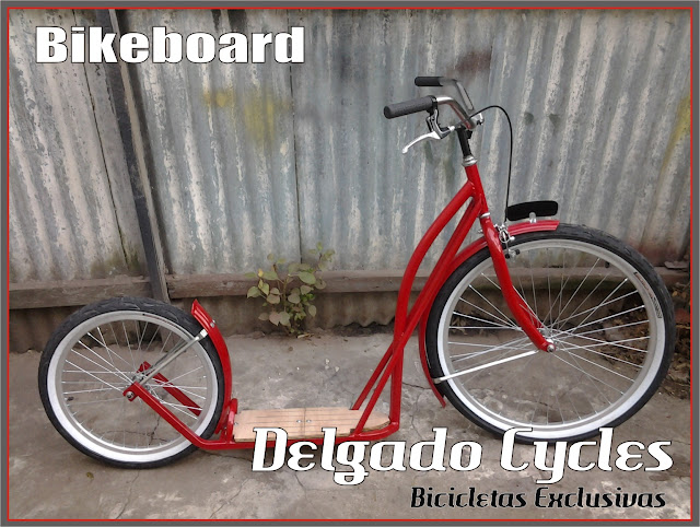 Bikeboard (monopatin) Delgado Cycles