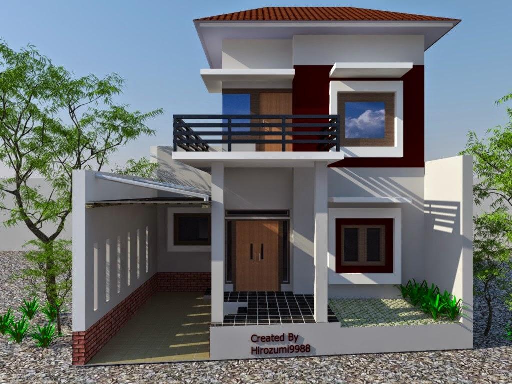 desain rumah minimalis 2 lantai 004 gambar rumah pinterest