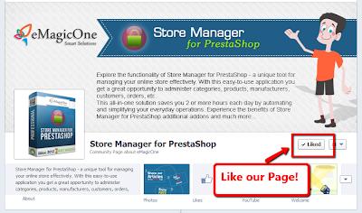 Free PrestaShop Store Manager