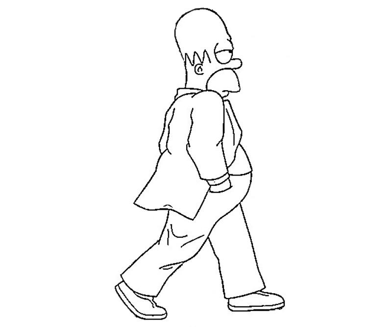 printable-simpsons-actions_coloring-pages