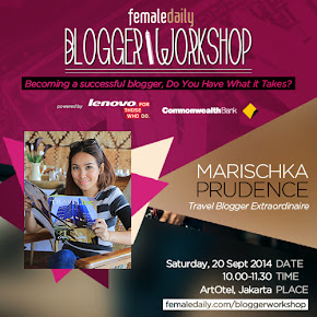 Join Blogger Workshop with Me!