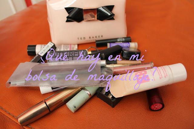 ¿Qué hay en mi bolsa de Maquillaje?