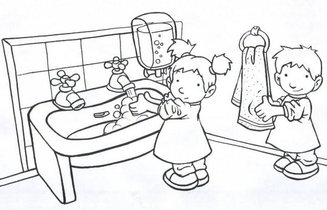 Fichas de hábitos de higiene - Imagui