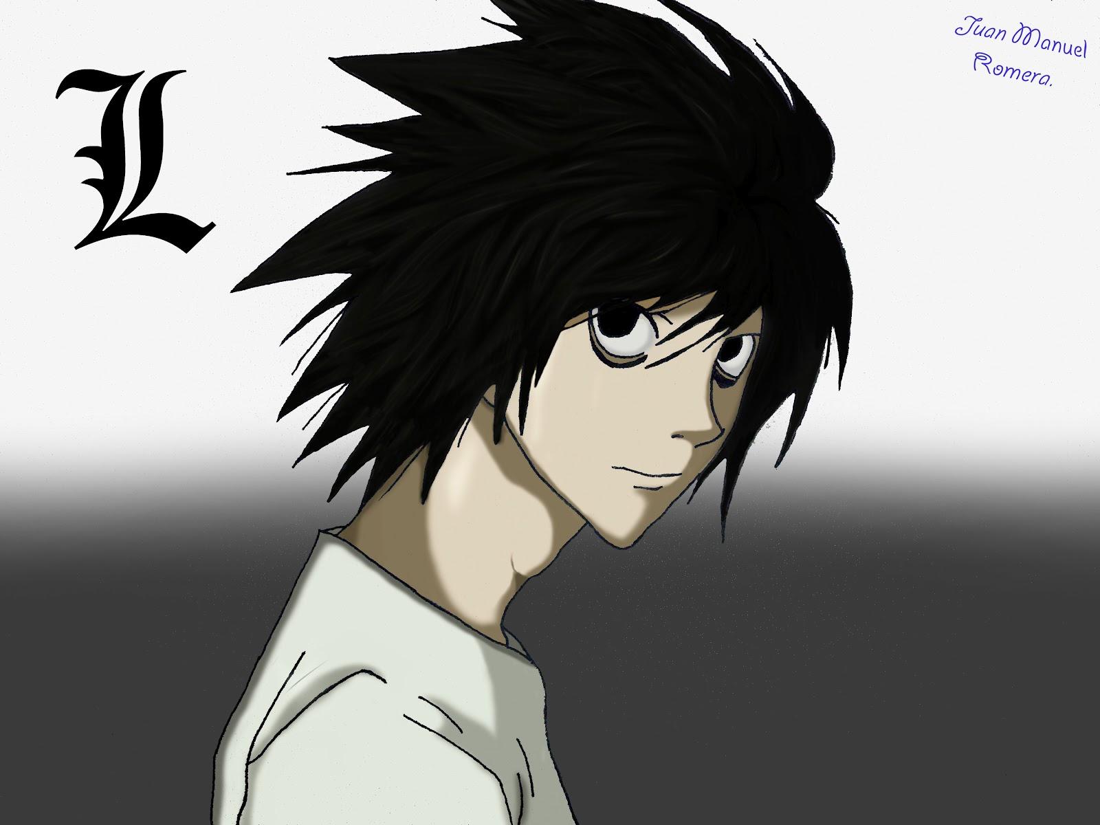 "My little perfect world.: Death note,L ""Ryuzaki""."