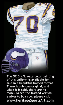 Minnesota Vikings 2004 uniform