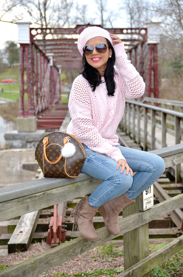 Sweet Winter in Rose Quartz-MariEstilo