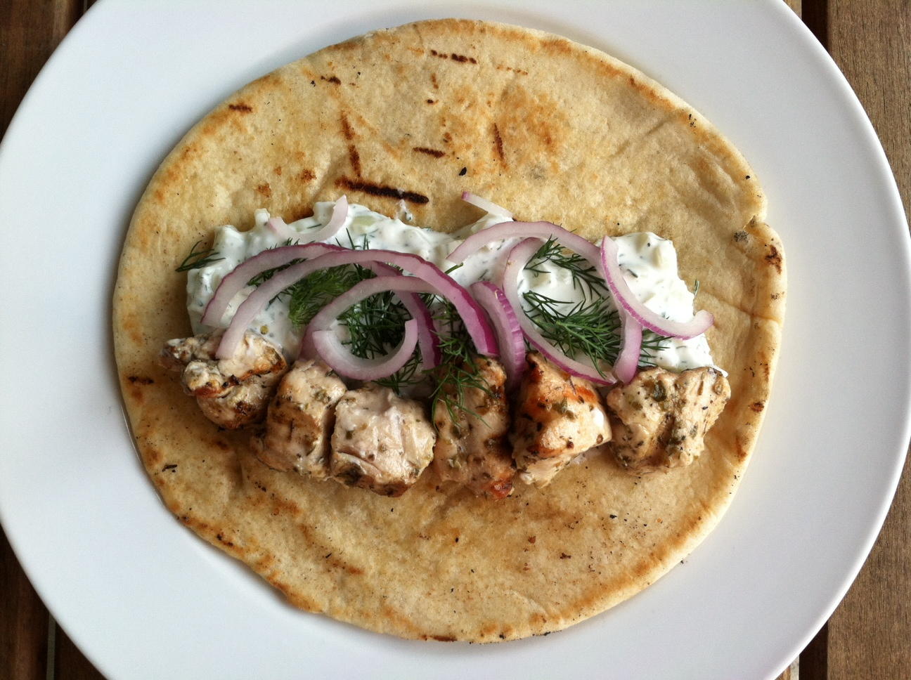 Taste of Home Cooking: Recipe Swap - Chicken Souvlaki