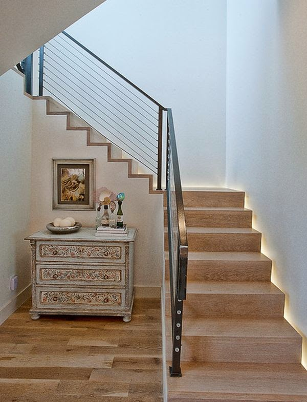 Cool indoor stair lighting ideas led stair lights - Interior stair lighting ideas ...