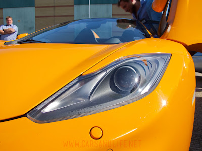 Frank Stephenson Caught Driving McLaren MP4-12C Spider