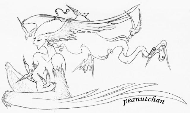 :Serene Harpy: por peanutchan