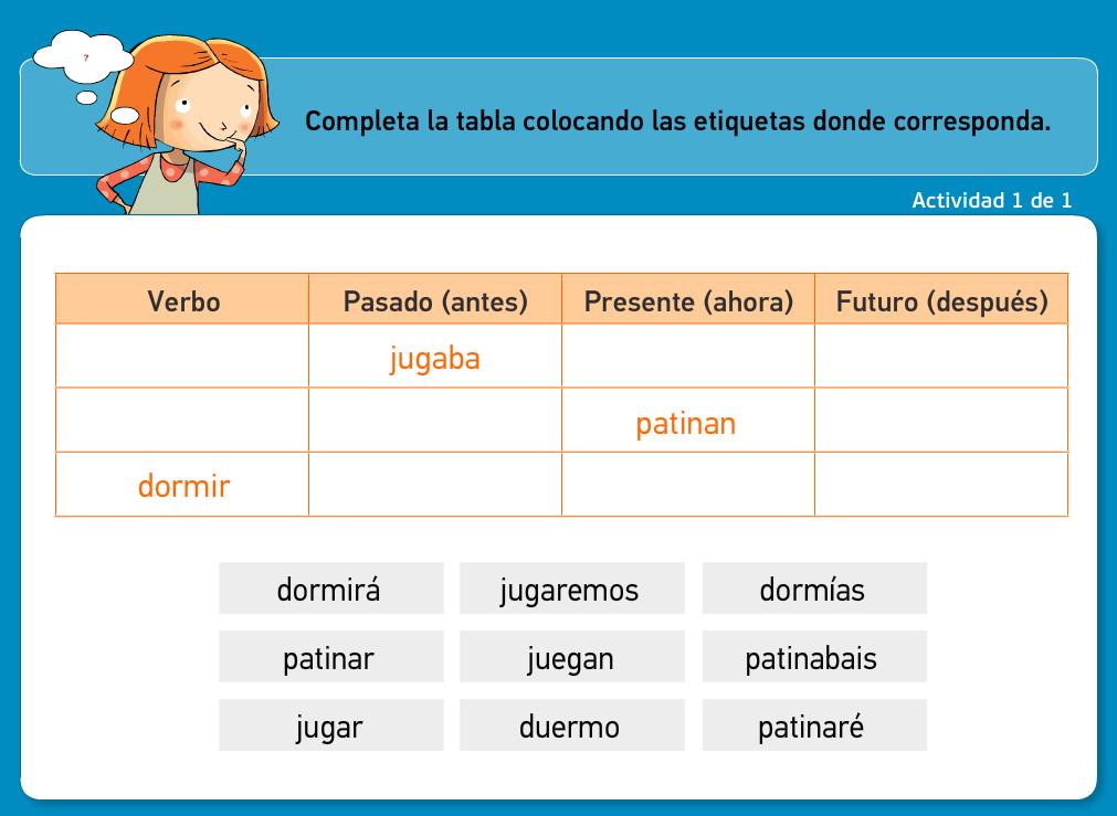 http://www.primerodecarlos.com/TERCERO_PRIMARIA/archivos/actividades_tilde_tercero/10/verbo_pasado_presente_futuro.swf